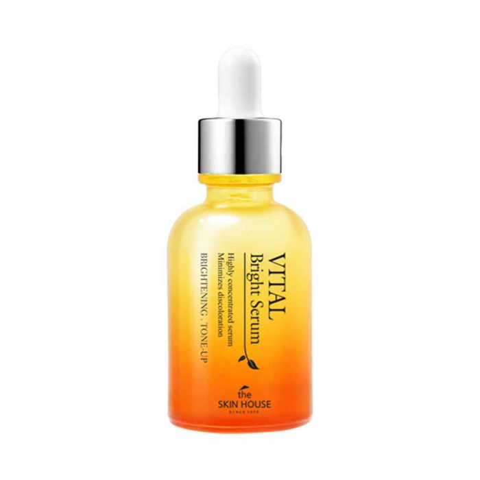 Ser Concentrat pentru Uniformizare Culoare si Luminozitate The Skin House Vital Bright 30ml 0