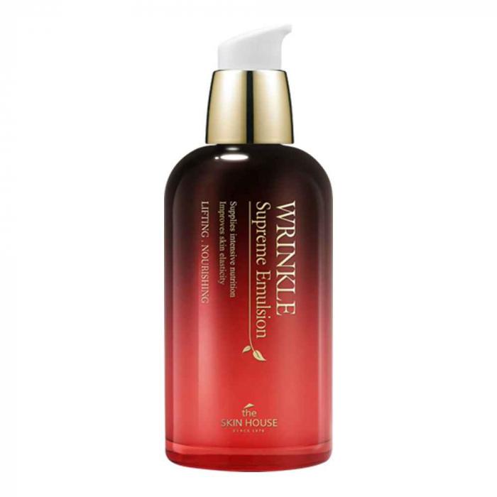 Emulsie Antirid cu Ginseng The Skin House Wrinkle Supreme 130ml 0