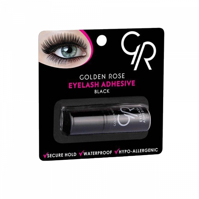 Adeziv pentru gene false waterproof Golden Rose Negru 3gr 0