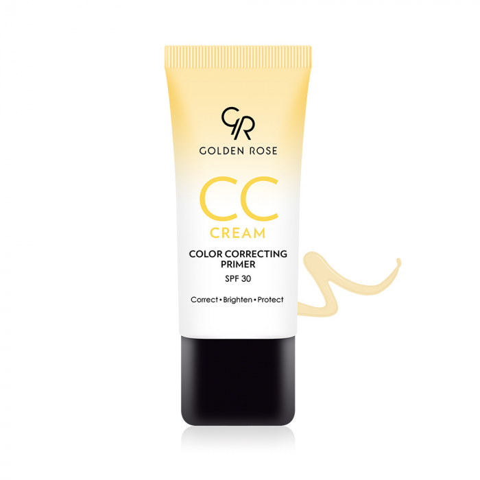 CC Cream Golden Rose Correcting Primer SPF30 Galben Promo! 0