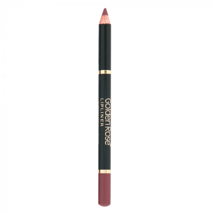 Creion de buze Golden Rose Wooden Bej si Maro [0]