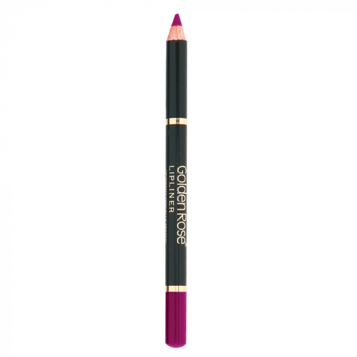 Creion de Buze Golden Rose Wooden Rosu si Grena 0