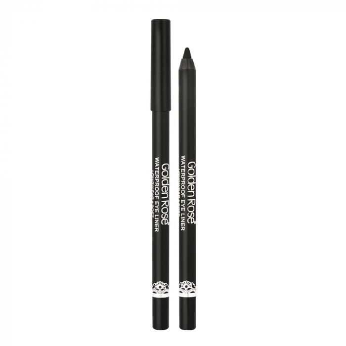 Creion ochi Golden Rose Waterproof Soft-Ultra Black 0