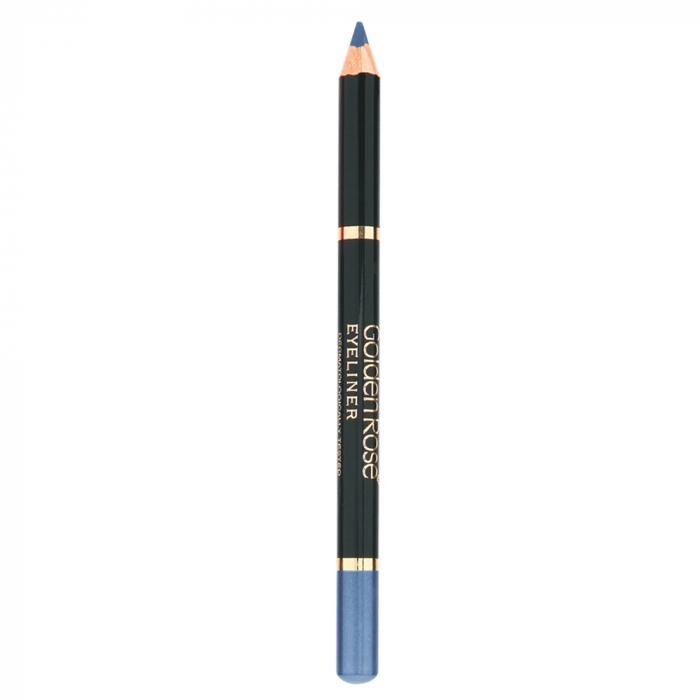Creion de ochi Golden Rose Wooden Albastru [0]
