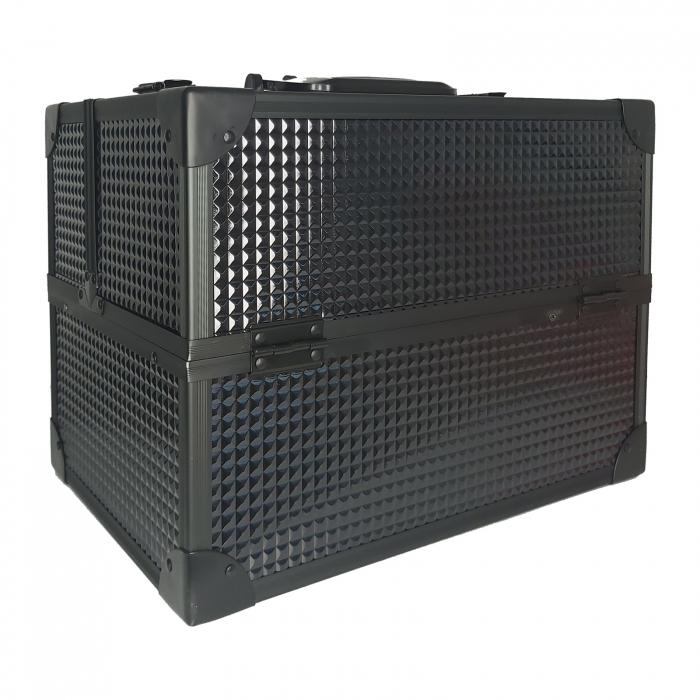 Geanta pentru cosmetice 35x25x25cm Neagra 1