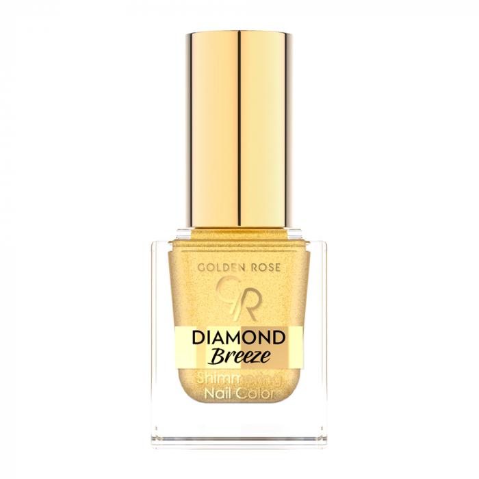 Lac de unghii Golden Rose Diamond Breeze 01 Auriu 10.5 ml 0