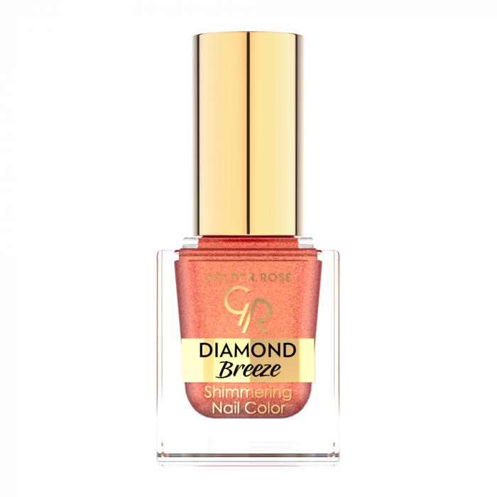 Lac de Unghii Golden Rose Diamond Breeze 03 Maro Caramiziu 0
