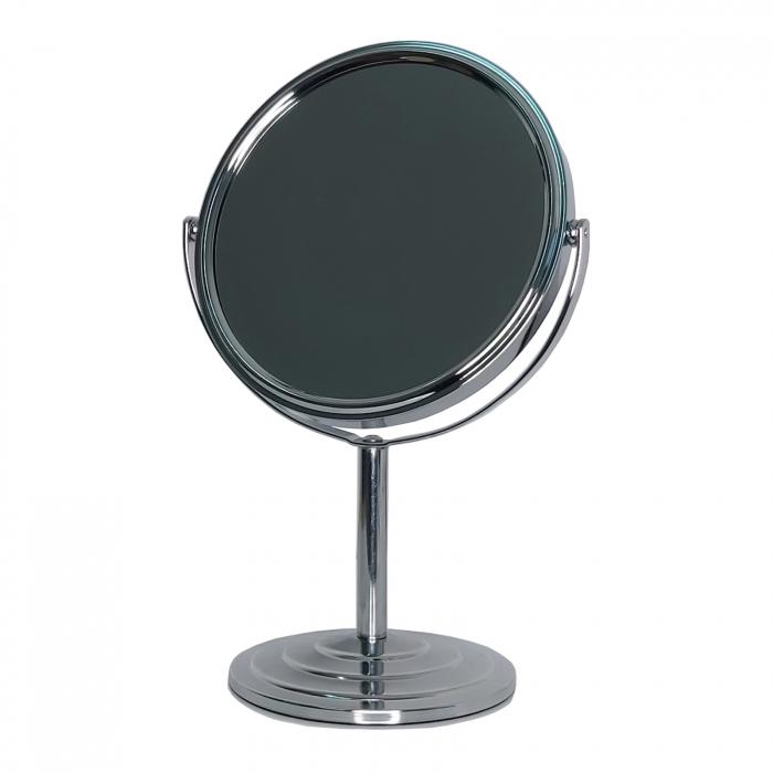 Oglinda cosmetica cu picior din Inox 20cm 0