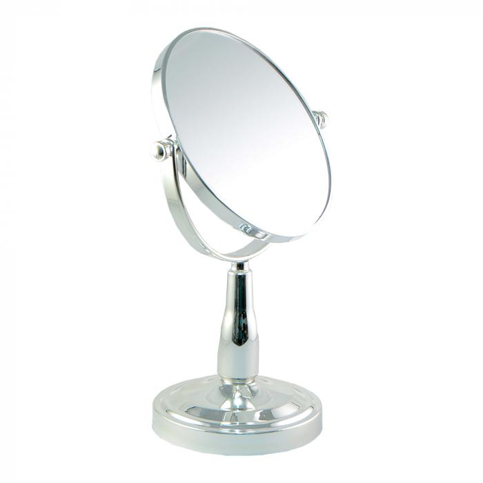 Oglinda Cosmetica cu Picior din Metal si Plastic 15cm 0