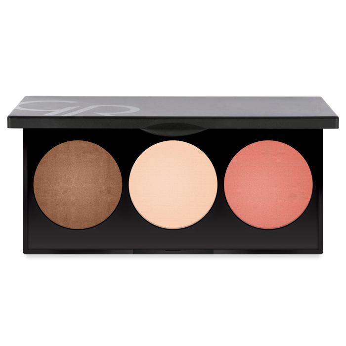 Paleta pentru contur Golden Rose Metals Sculpting 0