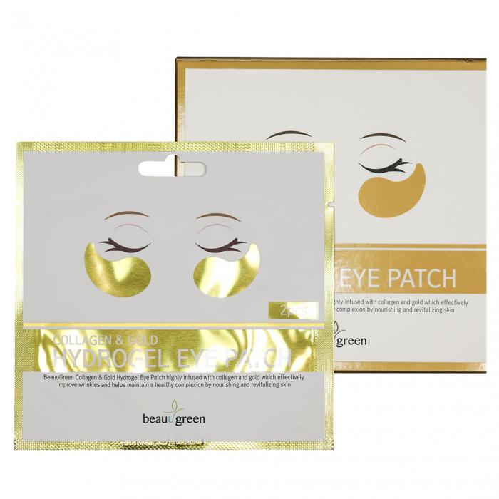 Plasturi Anticearcan pentru Ochi Beauugreen Collagen & Gold 4gr/2bc [1]