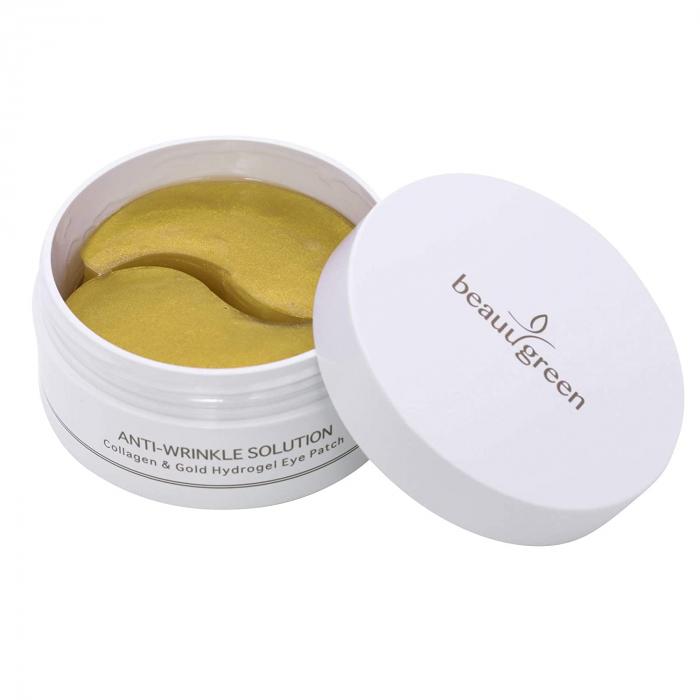 Plasturi Anticearcan pentru Ochi Beauugreen Collagen & Gold 90gr/60bc [3]
