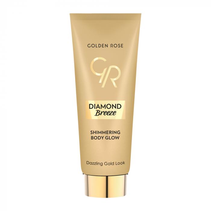 Crema pentru fata si corp Golden Rose Diamond Breeze Aurie 0