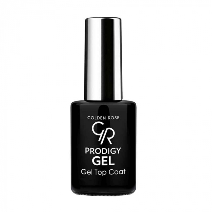 Top Coat Golden Rose Prodigy cu Efect de Gel 0
