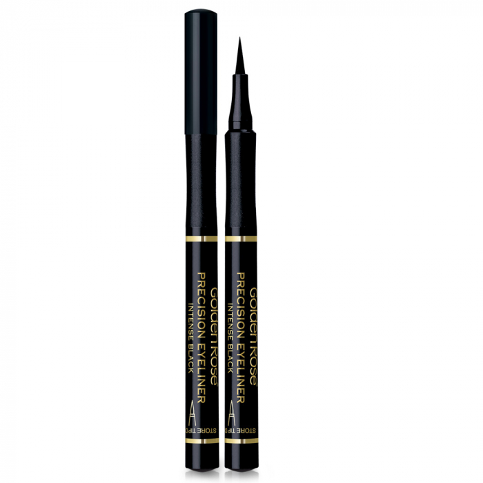 Tus de pleoape Golden Rose Waterproof Precision Liner Negru 0