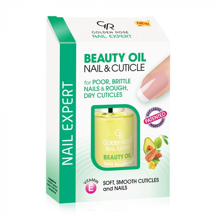 Ulei pentru unghii si cuticule Golden Rose Beauty Oil 11 ml 0