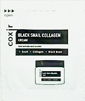 Esantion Crema pentru Fata Antirid Coxir Black Snail Collagen 2ml