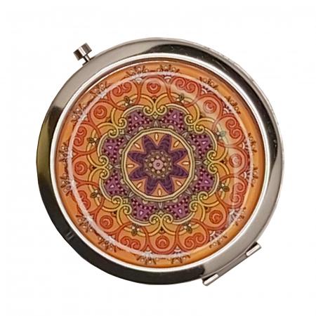 Oglinda cosmetica fashion de poseta din Inox 7cm [1]