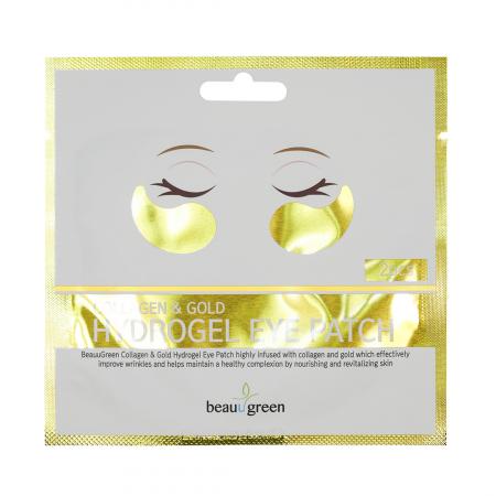 Plasturi Anticearcan pentru Ochi Beauugreen Collagen & Gold 4gr/2bc [0]