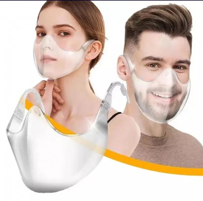 Masca protecție transparenta [0]