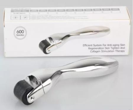 Dermaroller DRS 600 pini- Argintiu0