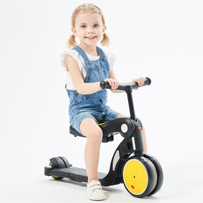 Bicicleta, tricicleta si trotineta Chipolino All Ride 4 in 1 yellow [1]