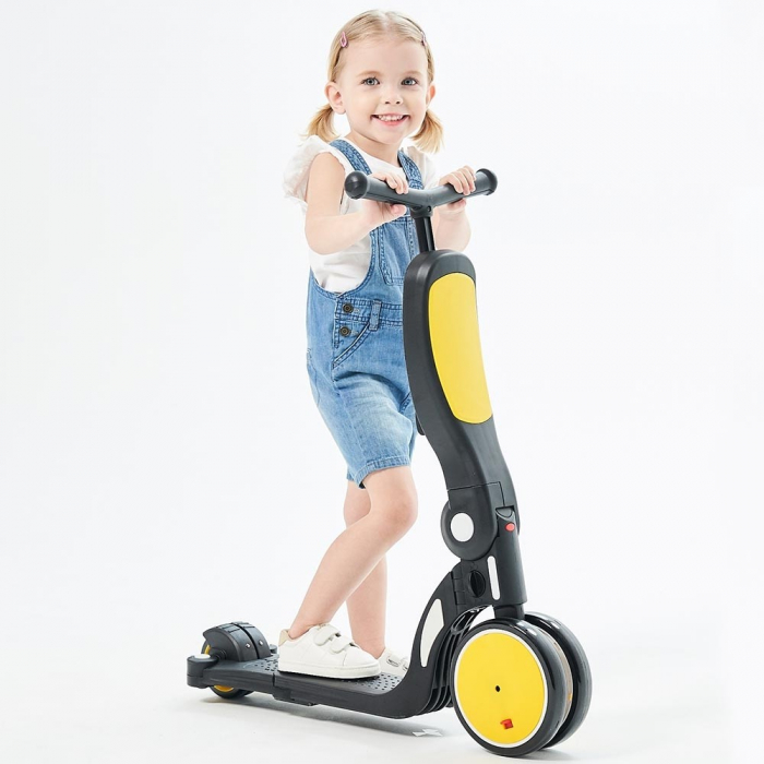 Bicicleta, tricicleta si trotineta Chipolino All Ride 4 in 1 yellow [3]