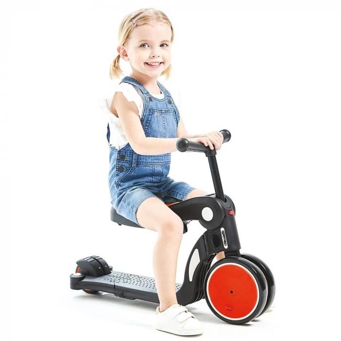 Bicicleta, tricicleta si trotineta Chipolino All Ride 4 in 1 red [1]