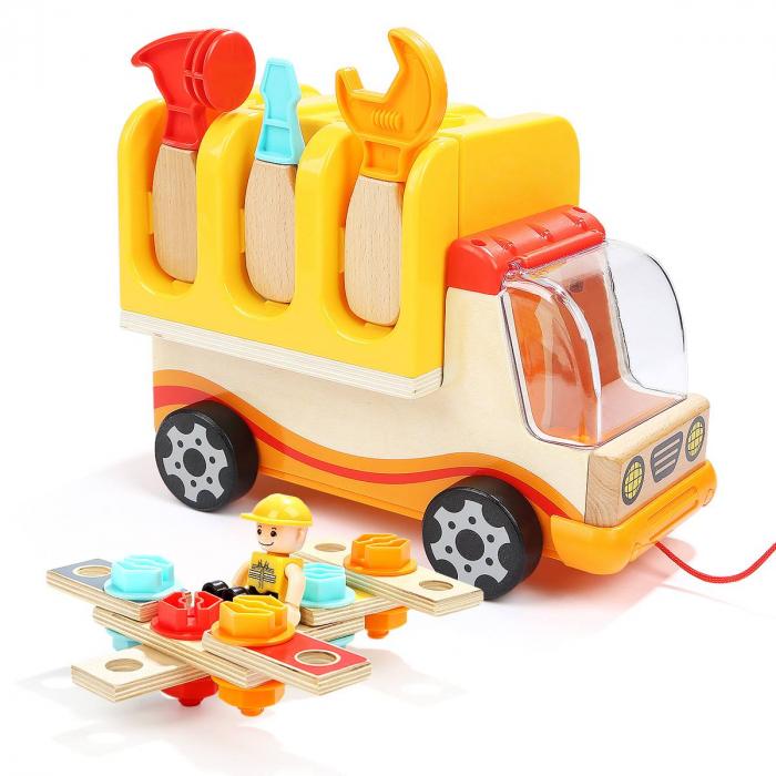 Camion pliabil multifunctional cu banc de lucru si scule, Topbright [2]