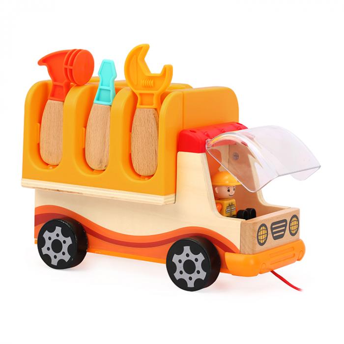 Camion pliabil multifunctional cu banc de lucru si scule, Topbright [0]