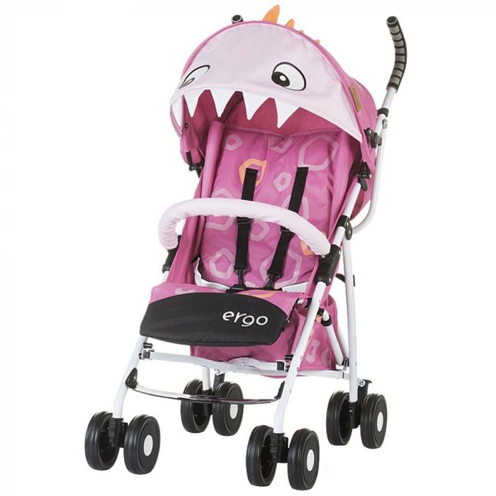 Carucior sport Chipolino Ergo pink baby dragon [0]