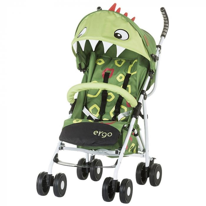 Carucior sport Chipolino Ergo green baby dragon [0]