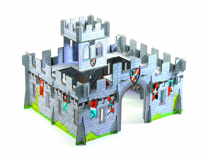 Castel medieval Djeco macheta 3D [1]