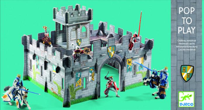 Castel medieval Djeco macheta 3D [2]