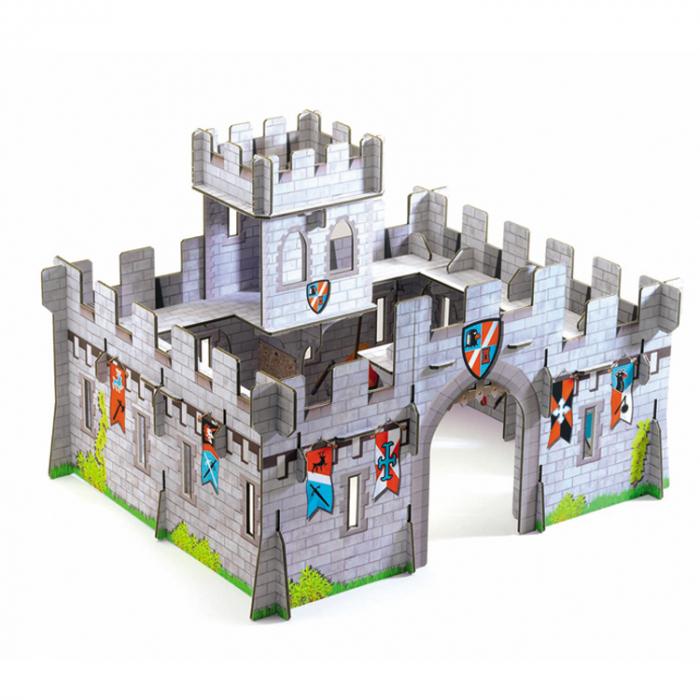 Castel medieval Djeco macheta 3D [0]