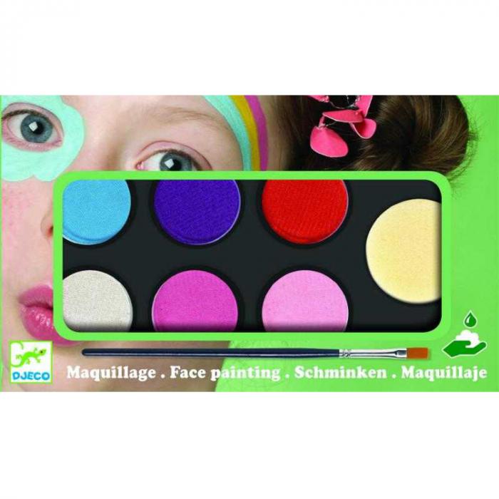 Culori make-up non alergice Djeco, pastel [0]
