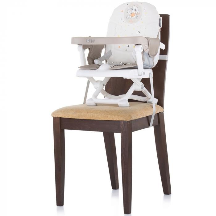 Inaltator scaun de masa Chipolino Lollipop Latte [4]