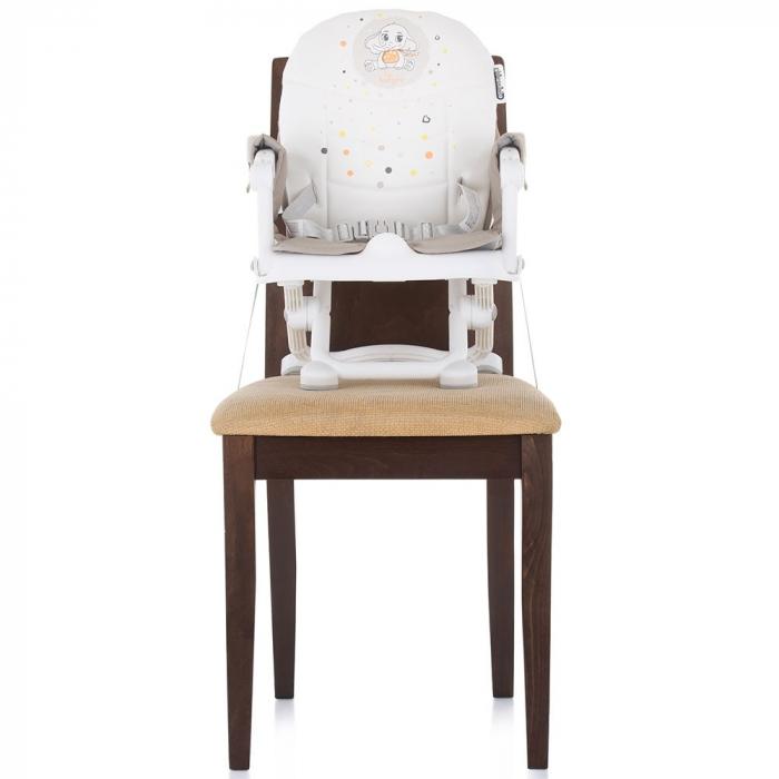 Inaltator scaun de masa Chipolino Lollipop Latte [7]