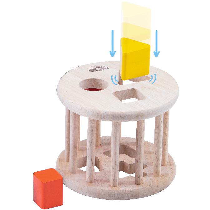 Jucarie de sortat forme din lemn [1]