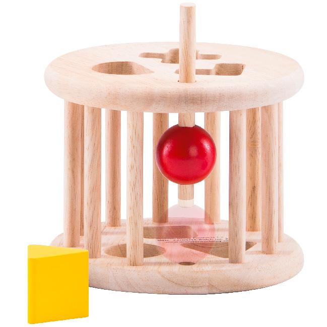 Jucarie de sortat forme din lemn [2]