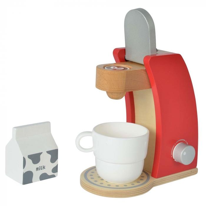 Jucarie espressor din lemn cu accesorii Eichhorn coffe machine [1]