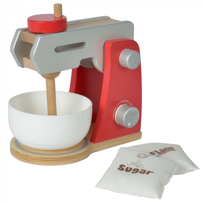 Jucarie mixer din lemn cu accesorii Eichhorn Food Mixer [0]