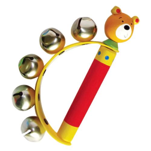 Jucarie muzicală cu clopoţei - ursuleţ [0]