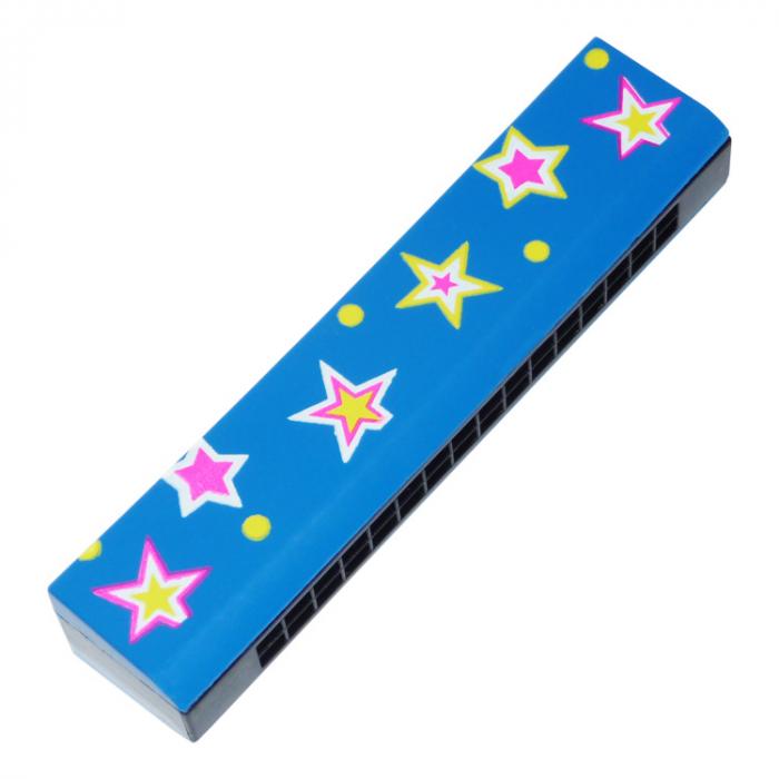 Muzicuţă albastră cu steluţe [0]
