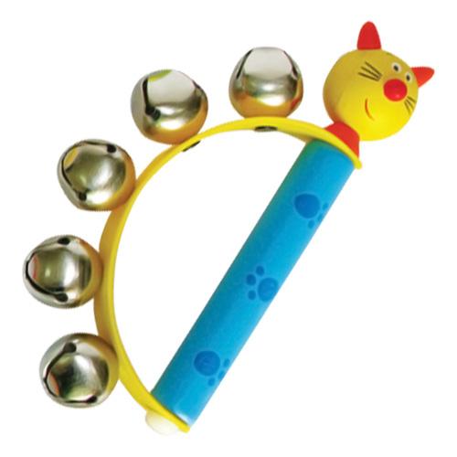Jucarie muzicală cu clopoţei - pisică [0]