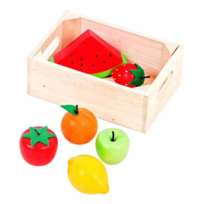 Lada cu fructe din lemn [0]