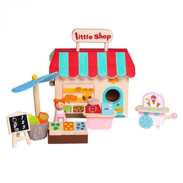 Magazin din lemn cu accesorii [0]