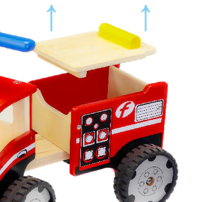 Masinuta de pompieri ride-on [3]