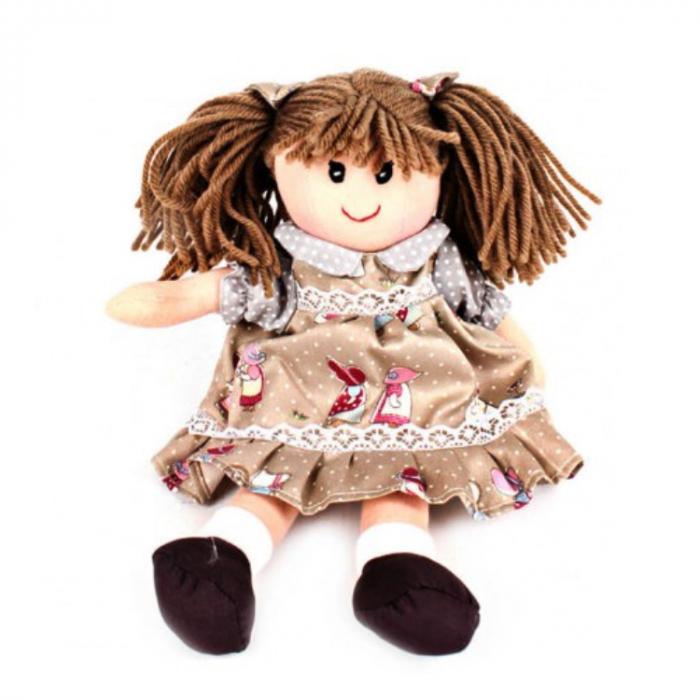 Papusa textil 25 cm Emma [0]