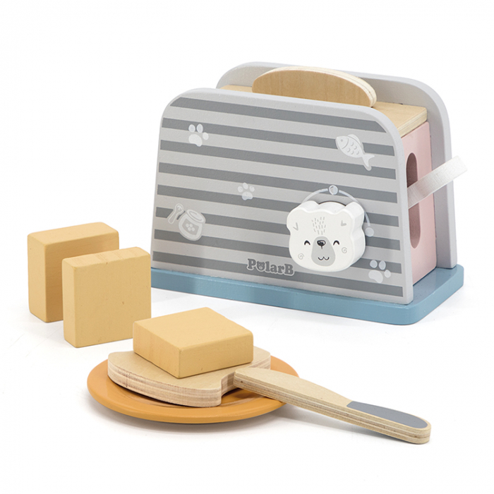 Prajitor de paine cu accesorii din lemn, Polar B [0]